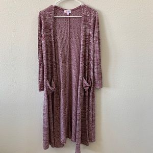 Lularoe Sarah open cardigan with pockets